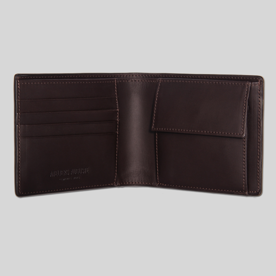 full grain leather wallet
