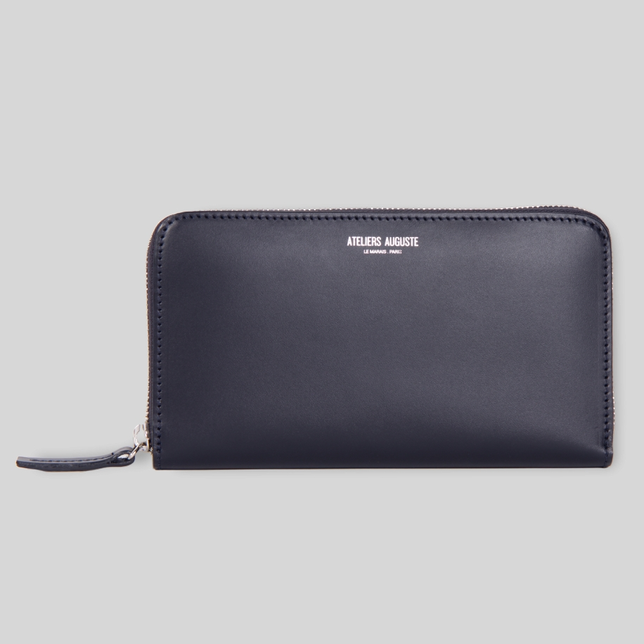 big leather wallet
