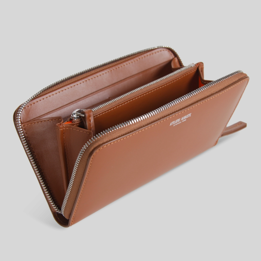 big continental leather wallet