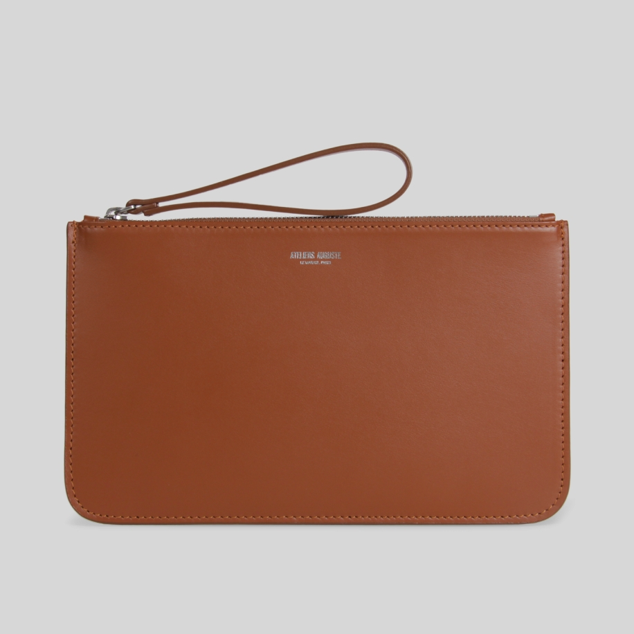 minimalist leather Pouch