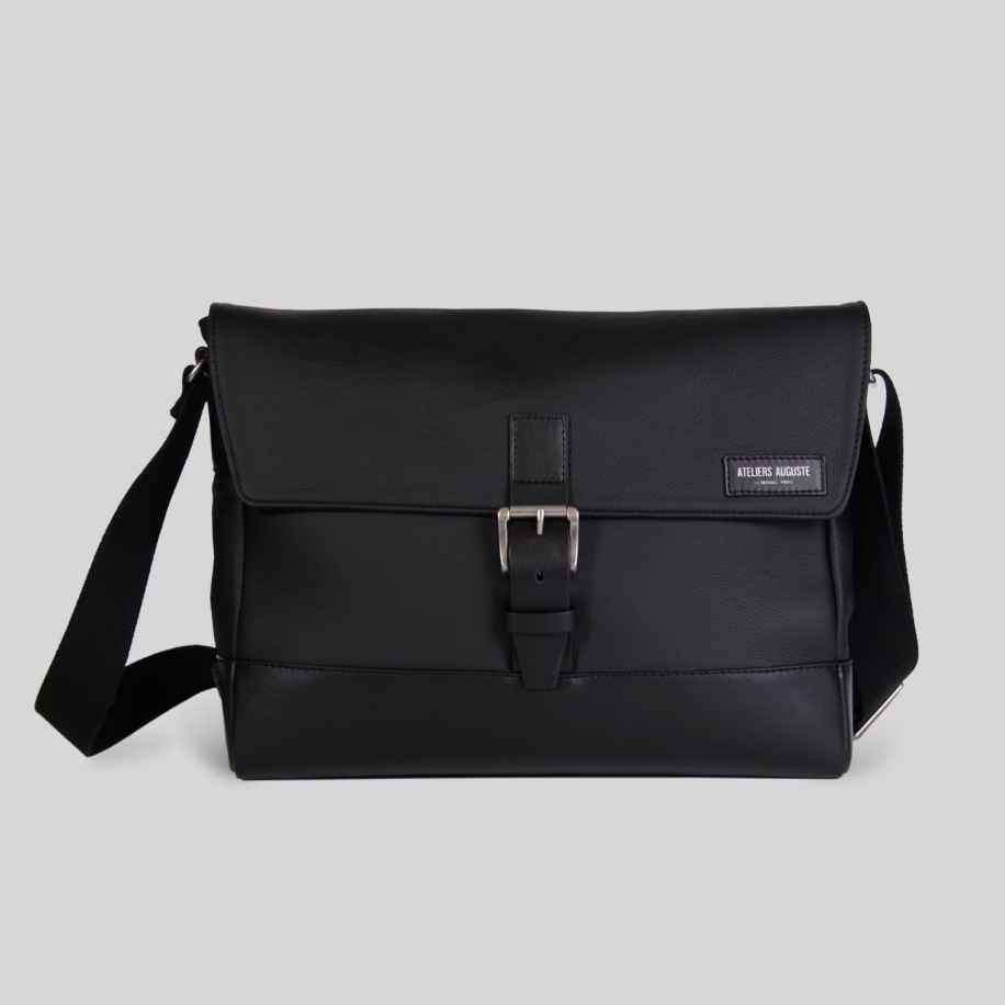 full leather messenger bag