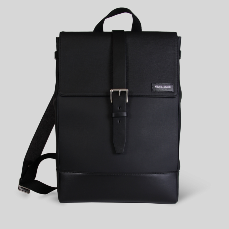 full leather Backpack