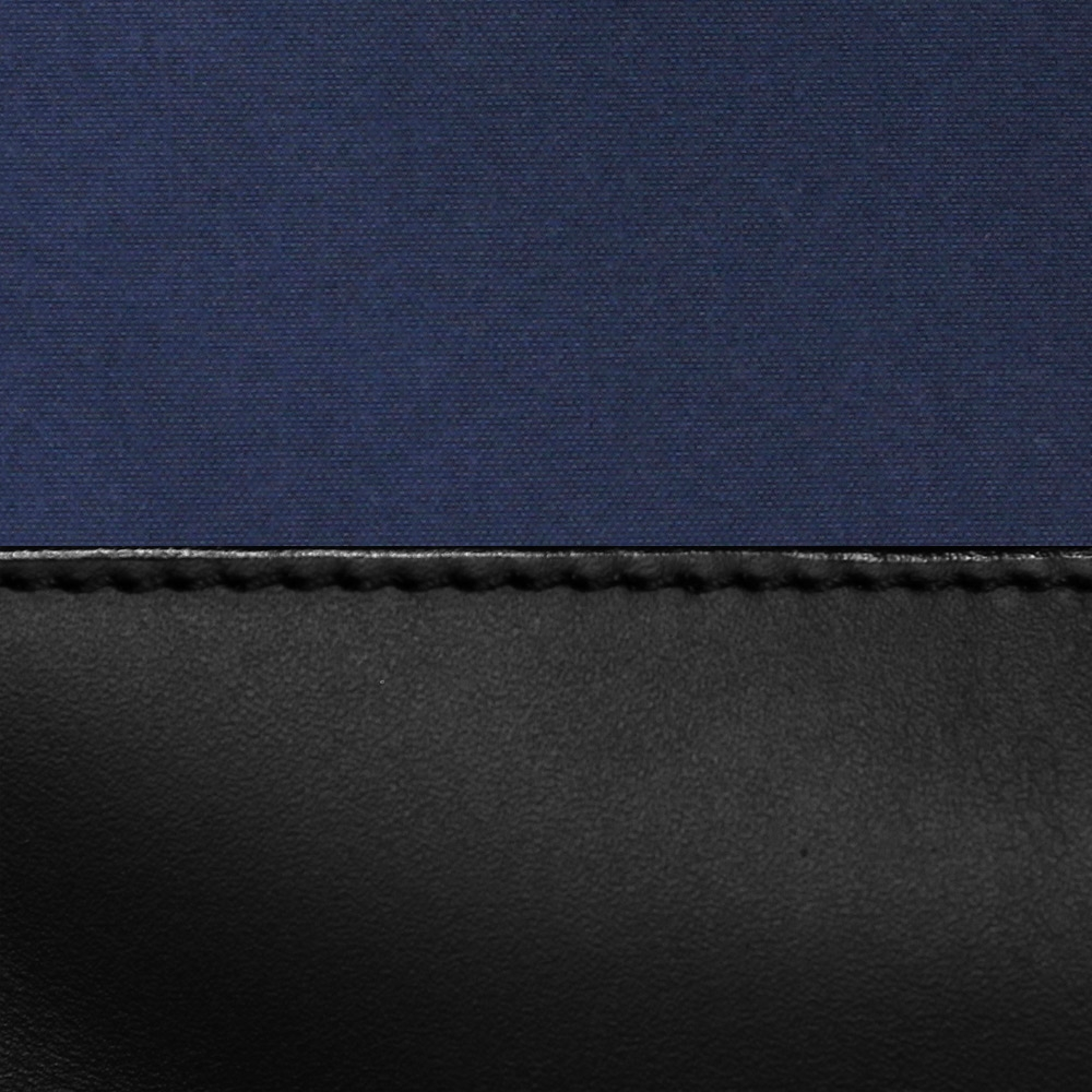 Navy Cordura / Black Leather